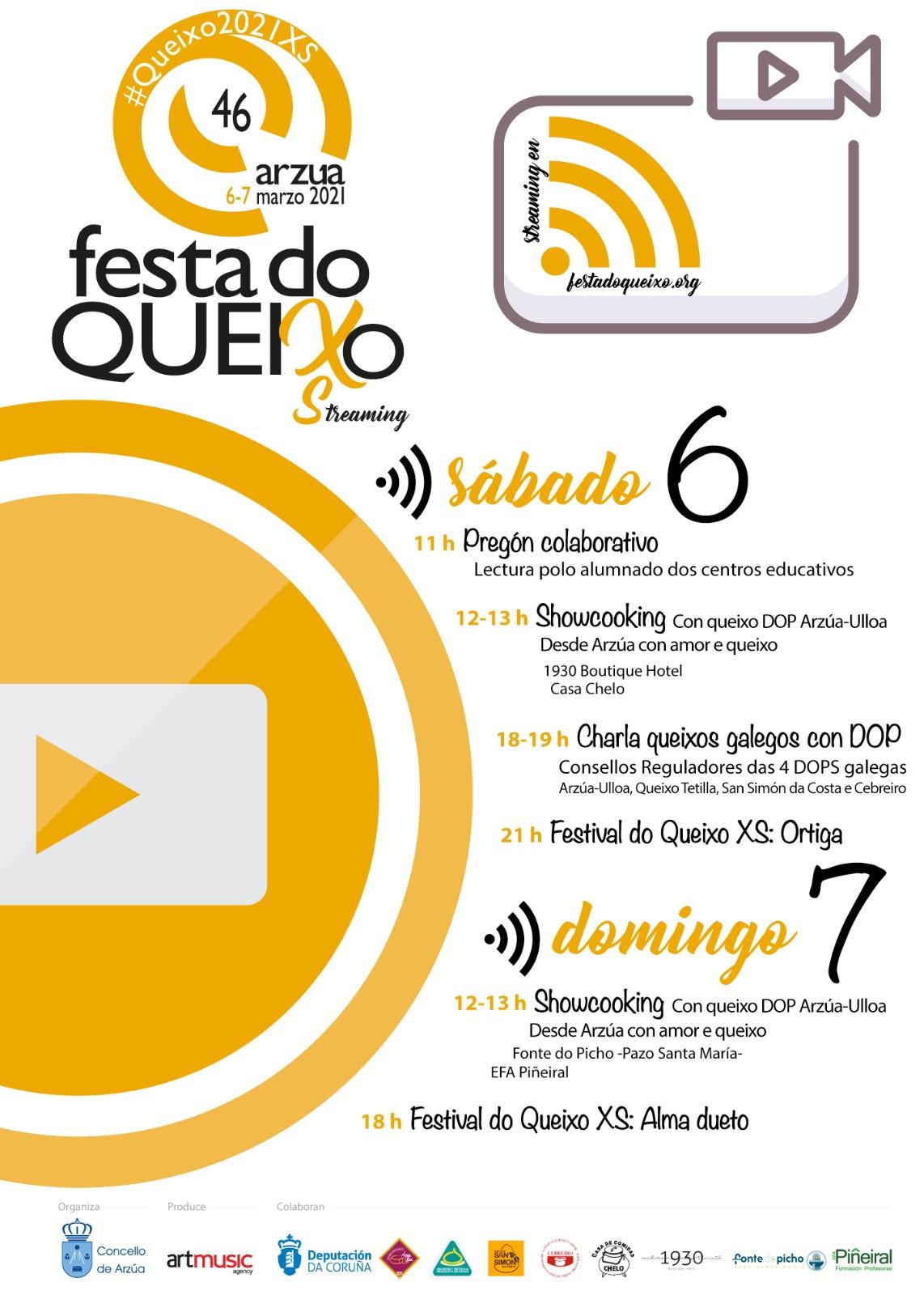 Cartel 46 Festa do Queixo edición XS